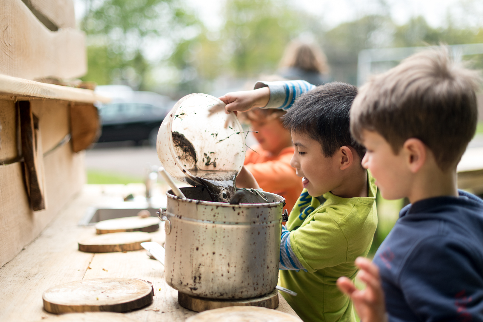 Kindergarten Mud Kitchen